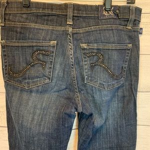 Rock and Republic boot cut jeans size 10